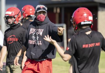 Moscow football opens practice