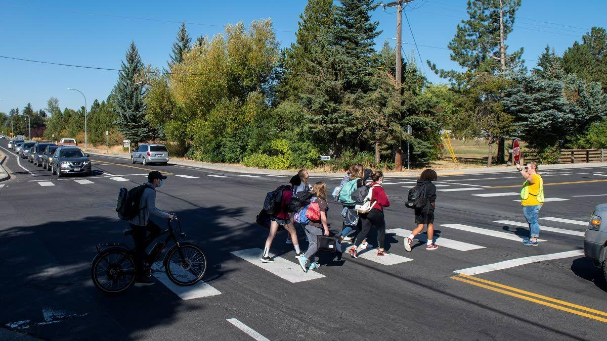 Student safety prompts change to traffic flow