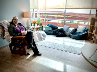 Gritman room gives nurses place to rest, rejuvenate
