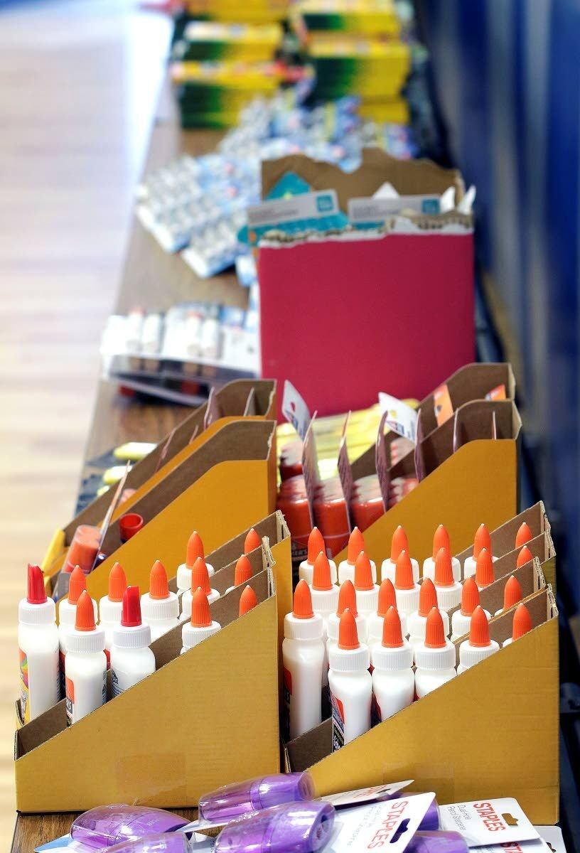 West Park stockpiles school supplies for students in need