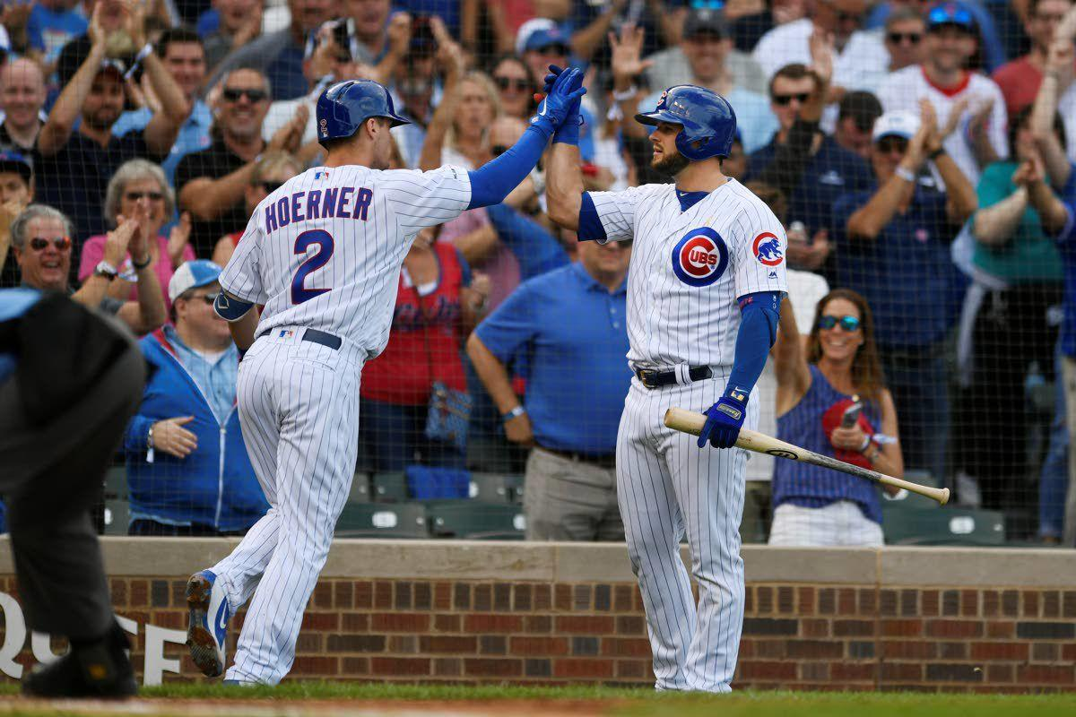 Rizzo's grand slam helps Cubs stay afloat
