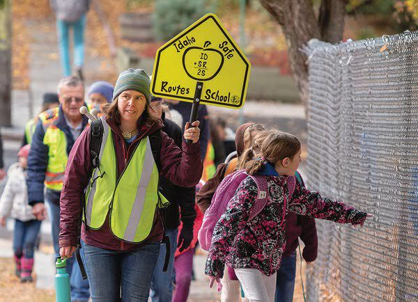 Featured Photo: International Walk to School Day