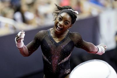Six pack; Simone Biles soars to sixth U.S. gymnastics title