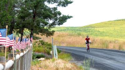 Patriotic bike route