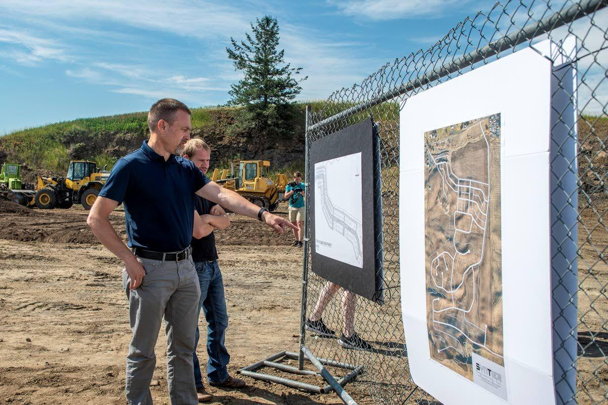 New Moscow subdivision breaks ground