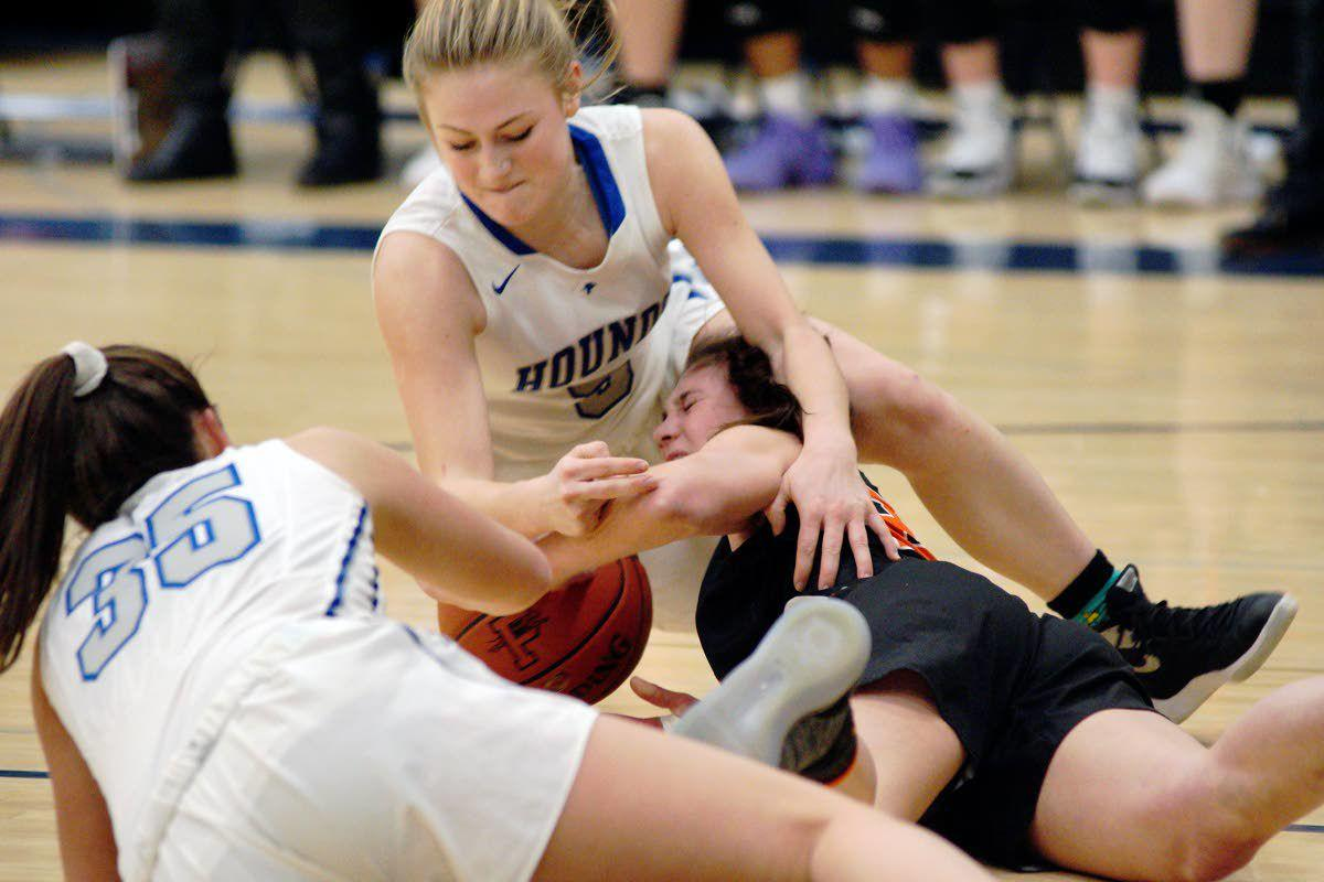 Defense carries Hounds to victory