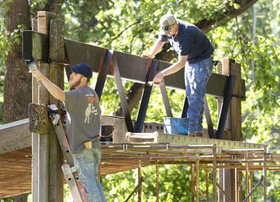 Featured photo: Reinforcing East City Park's Stage   Local