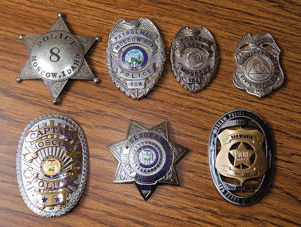 MPD officers sport new badges | Local | dnews com