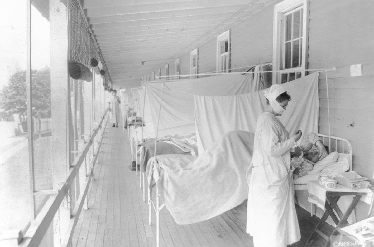 Virus-afflicted 2020 looks like 1918