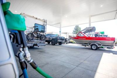 Higher gas prices not stopping travelers