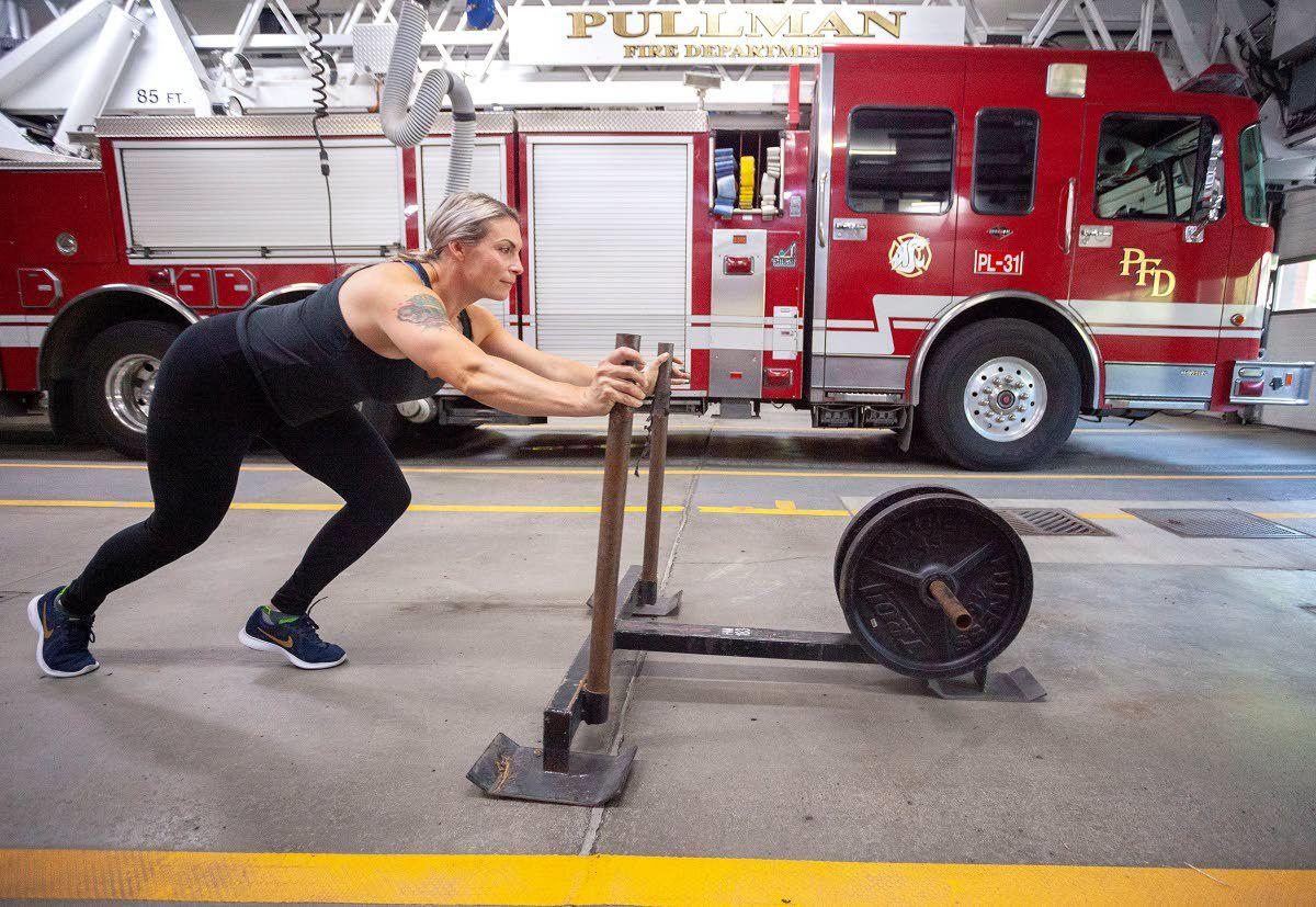 Firefighter atop ranks in fitness contest