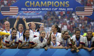 On top of the World: U.S. wins second straight World Cup title
