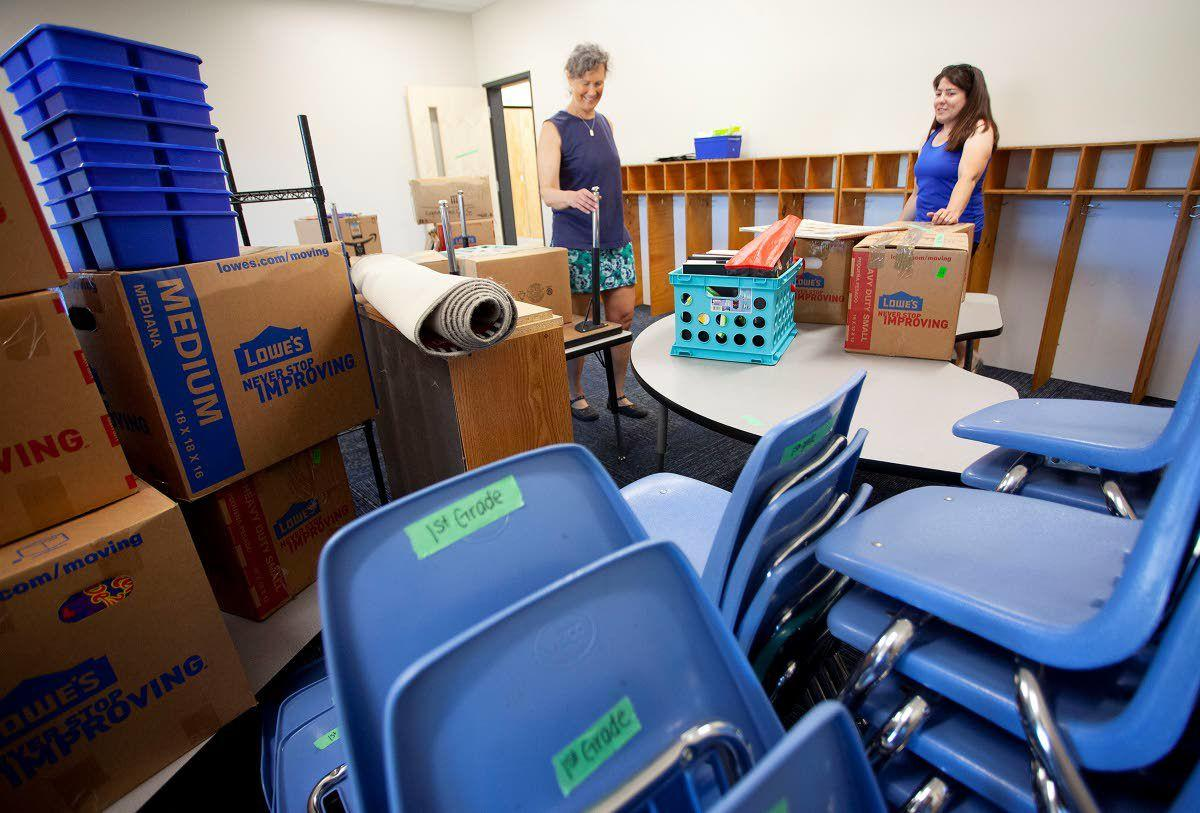 New digs for Moscow school