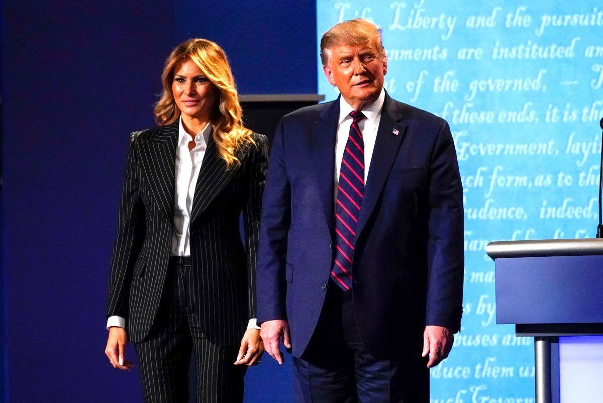 Trump and first lady test positive for COVID-19