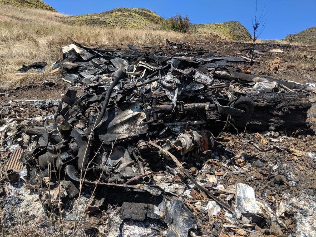 Small plane crashes near Kooskia, killing couple