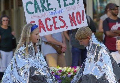 Photo: Vigil for immigrants
