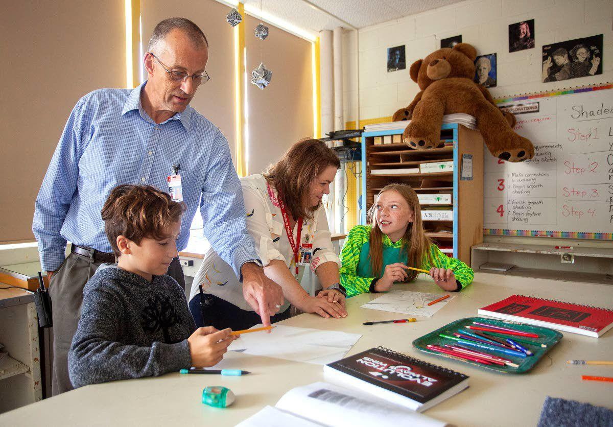 MMS principals bring new style, experience