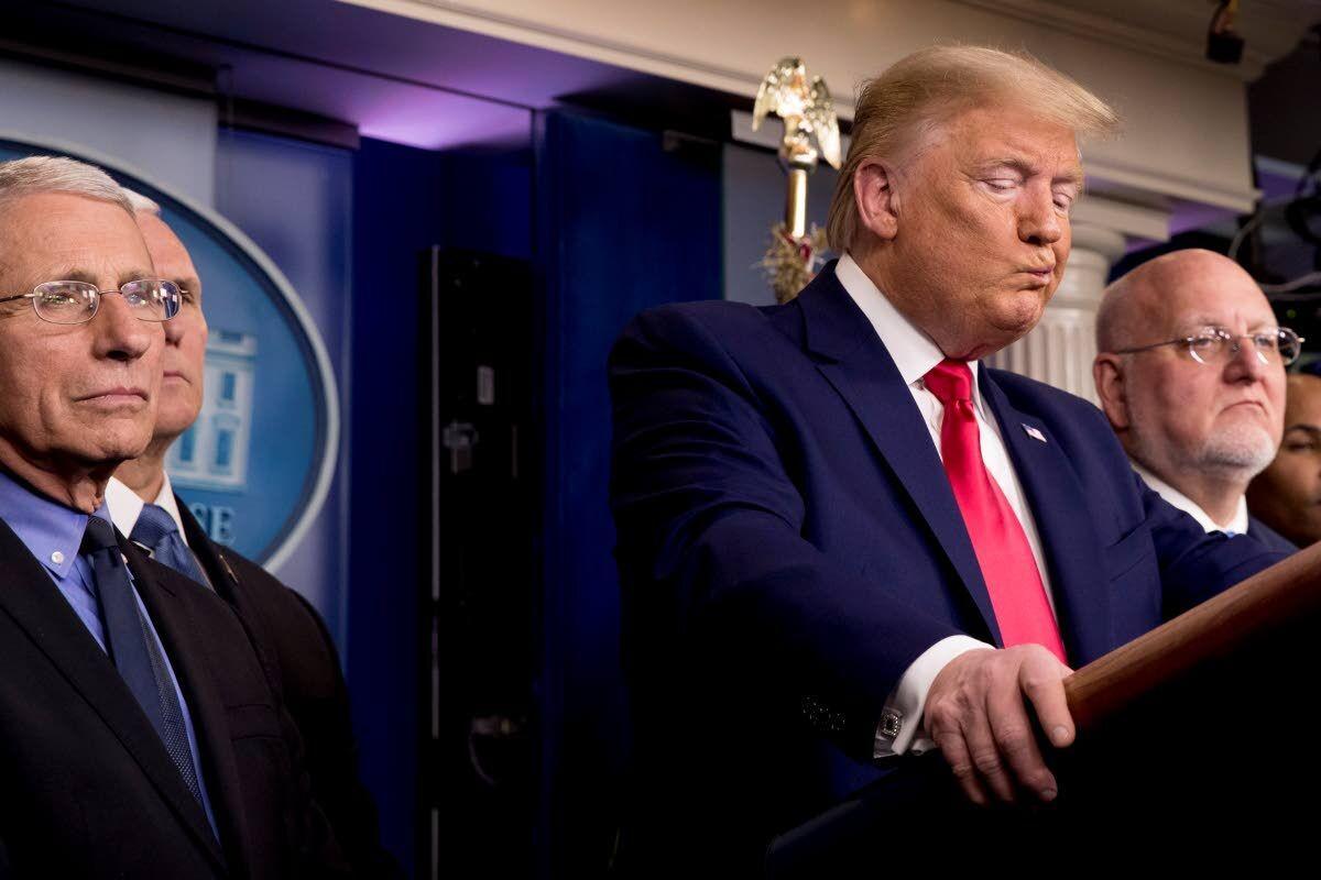 As Trump played down virus, health experts' alarm grew