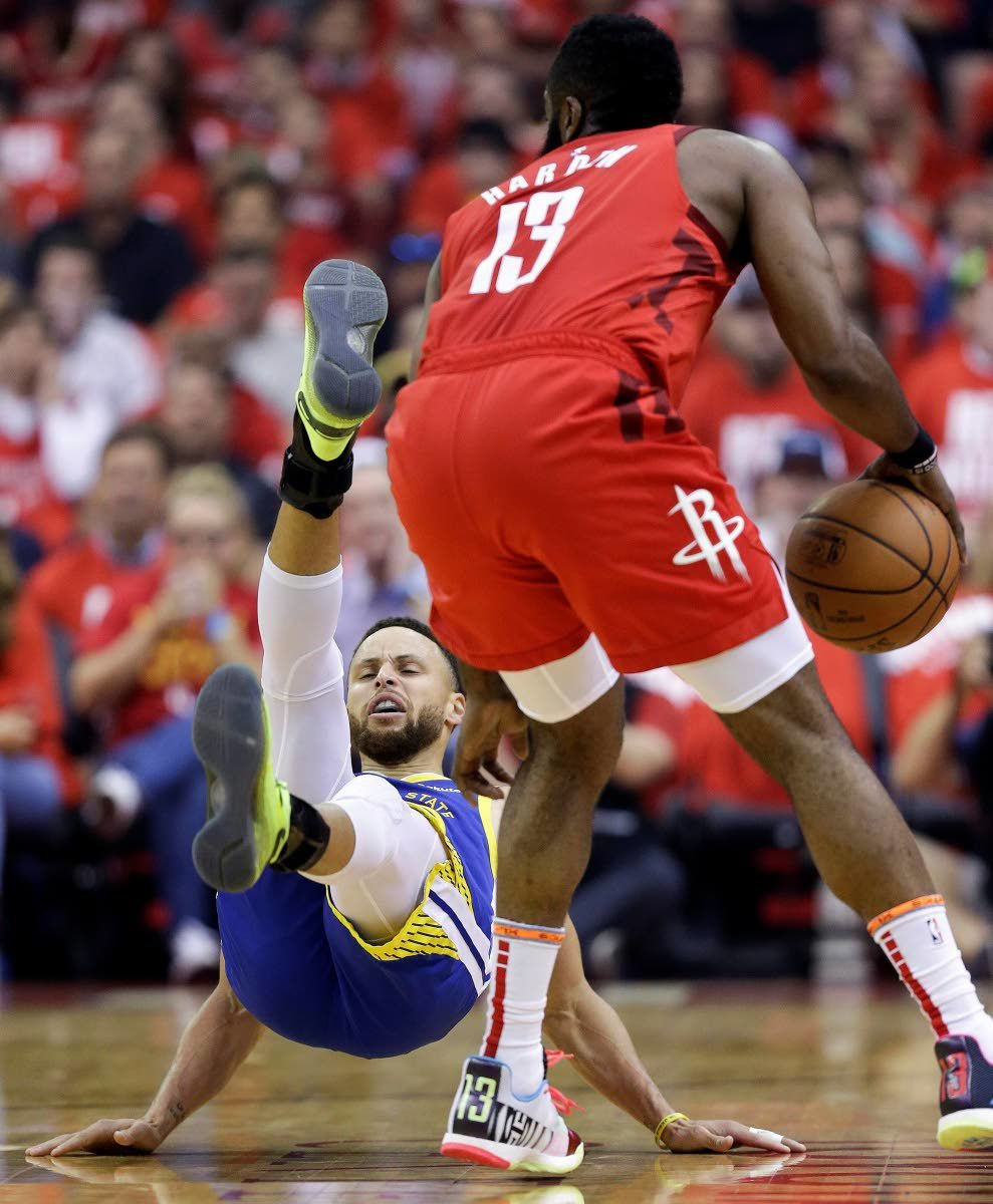 James Harden And Stephen Curry: Harden, Rockets Even Series Against Warriors