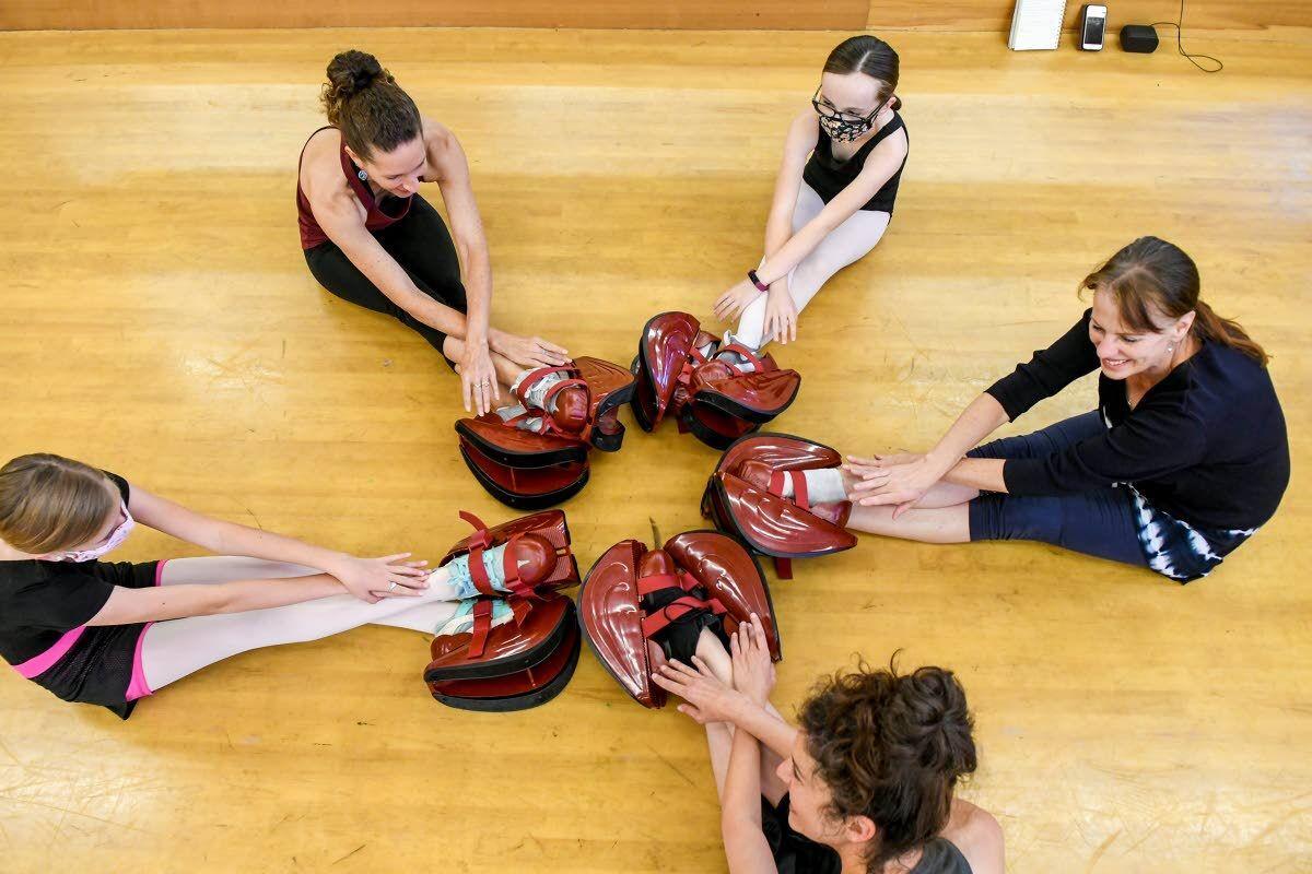 She's versed in ballet 'cross-training'