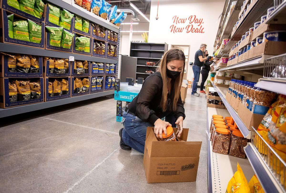 Grocery Outlet aims to be a different type of store