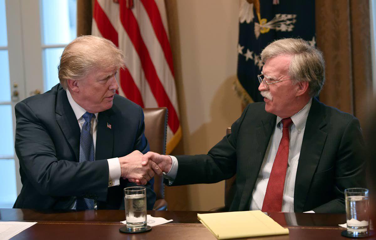 Trump ousts hawkish adviser John Bolton, dissenter on foreign policy