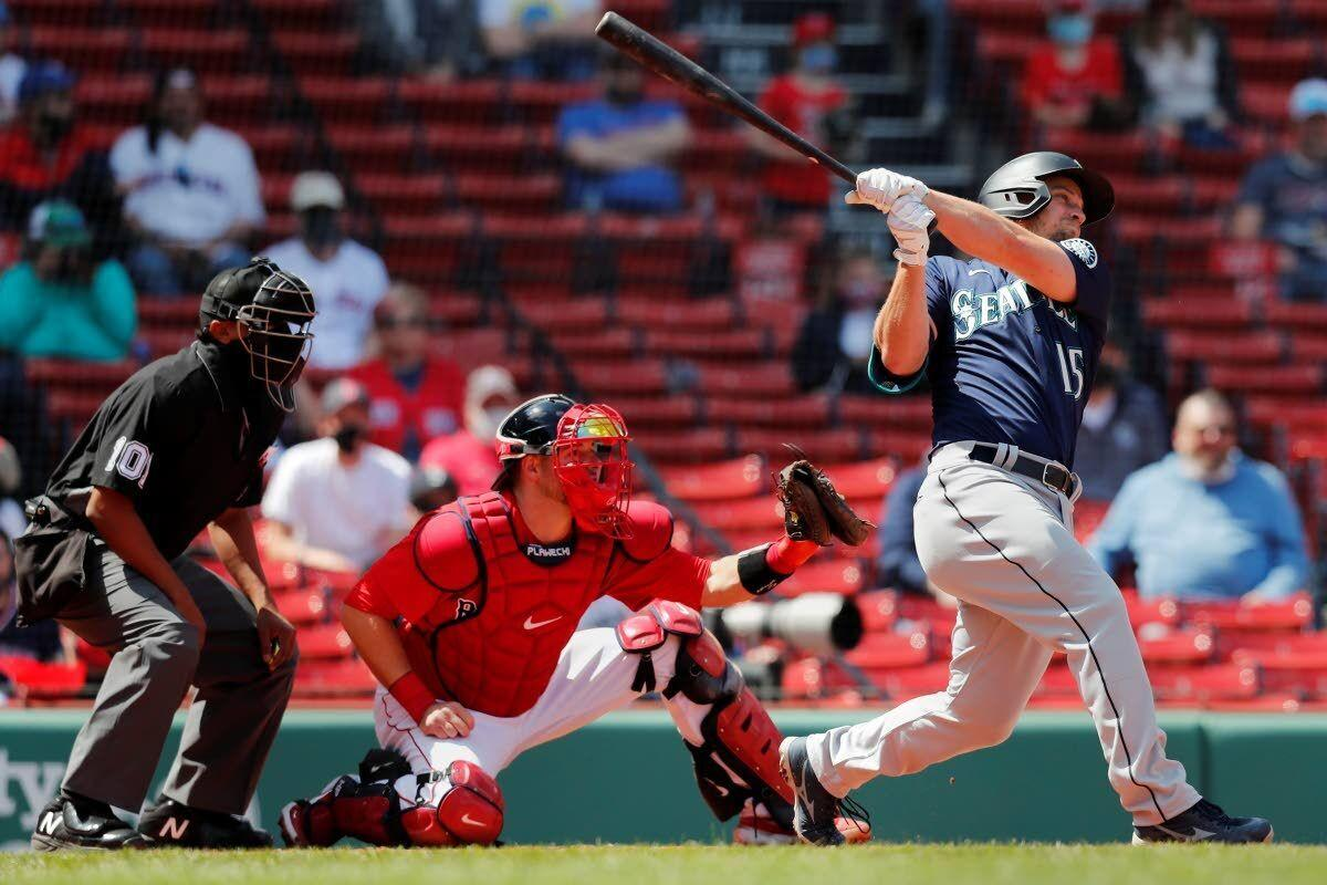 Seager, Flexen lead Mariners past Red Sox