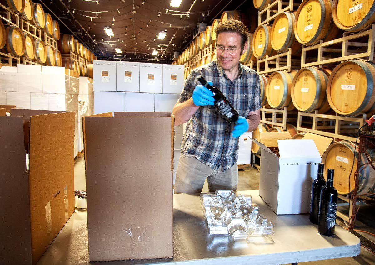 Area wineries adapt to new social distancing provisions