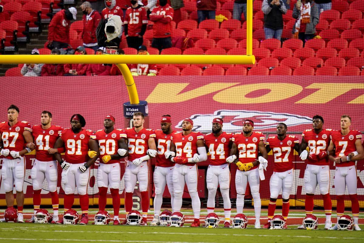 Chiefs and Texans are booed as racial justice stand sparks fan outrage