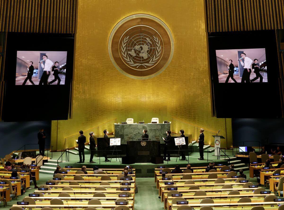 U.N. reaches toward a new generation