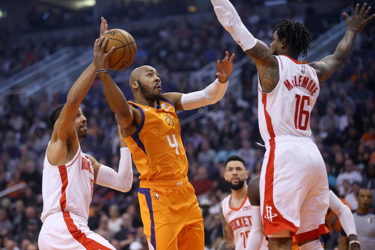 Oubre nets career-high 39 as Suns roll past Rockets