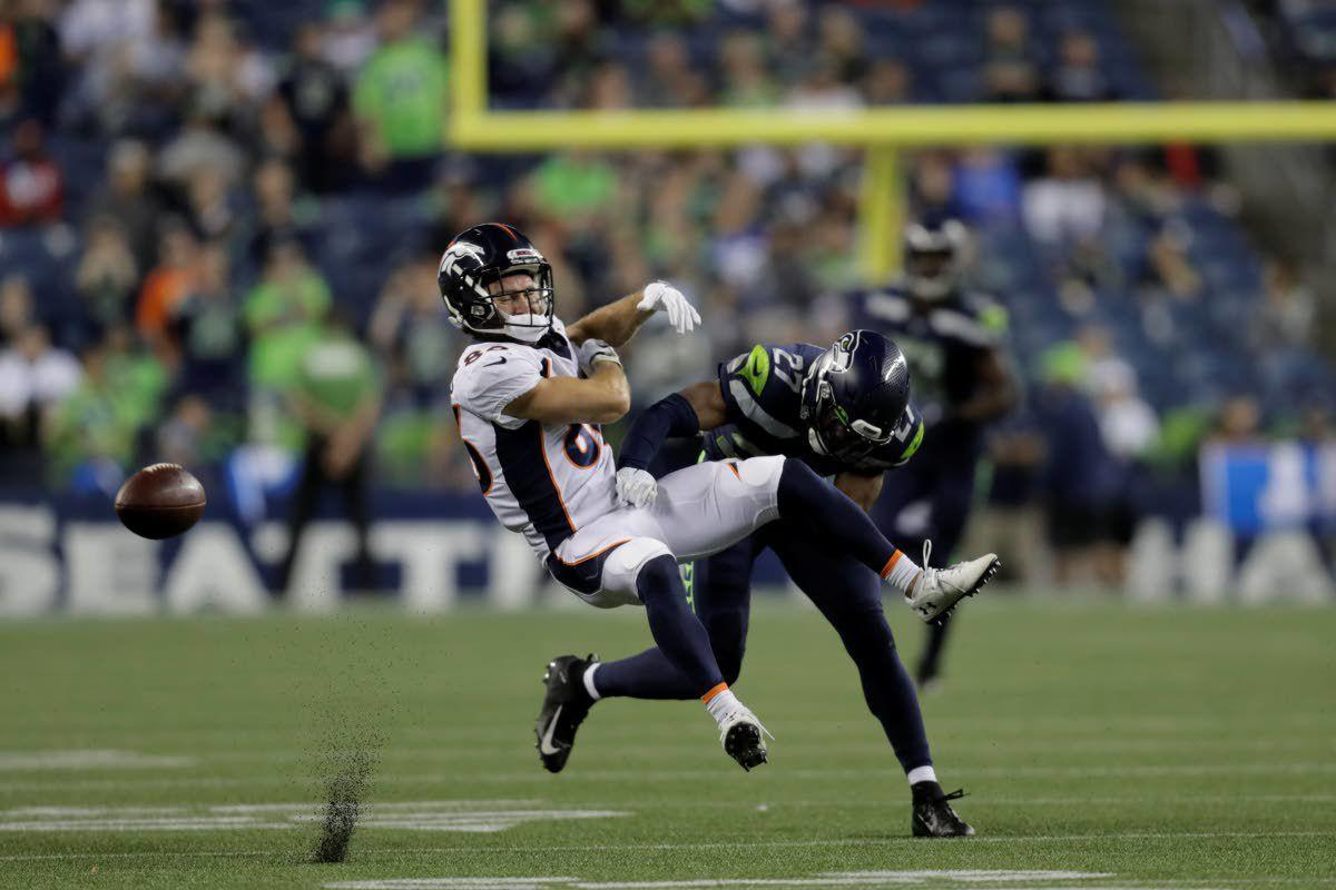 Rookie safety Blair makes a loud first impression in his debut with Seahawks
