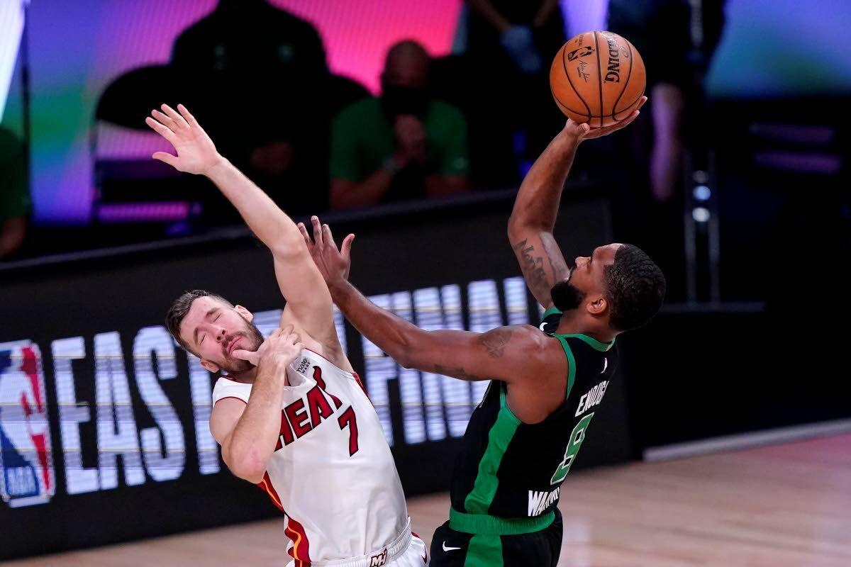 Celtics can't stand up to Heat