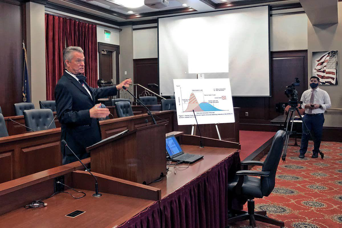 Idaho governor keeps virus restrictions