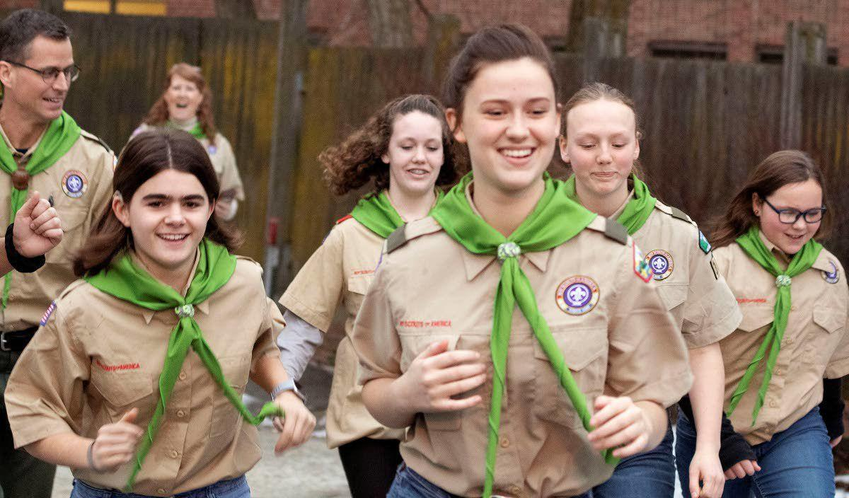 Welcoming girls into Boy Scouts | Local | dnews com