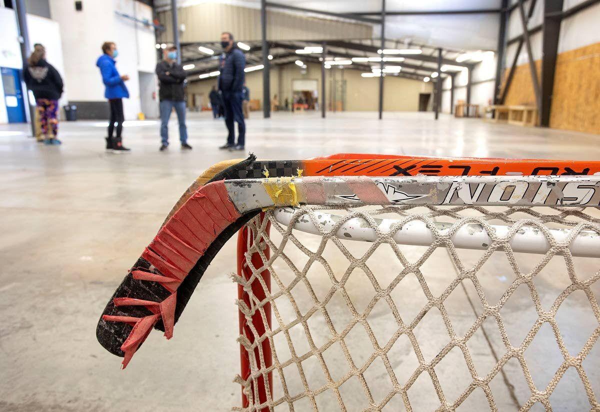 New ice rink gets a look-see