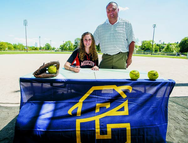 Moscow High softball standout headed to Carroll College ...