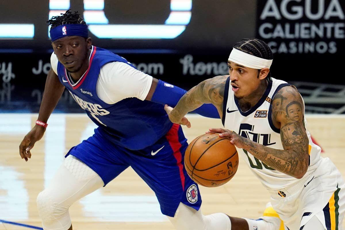 Jazz roll past short-handed Clippers for 9th straight win