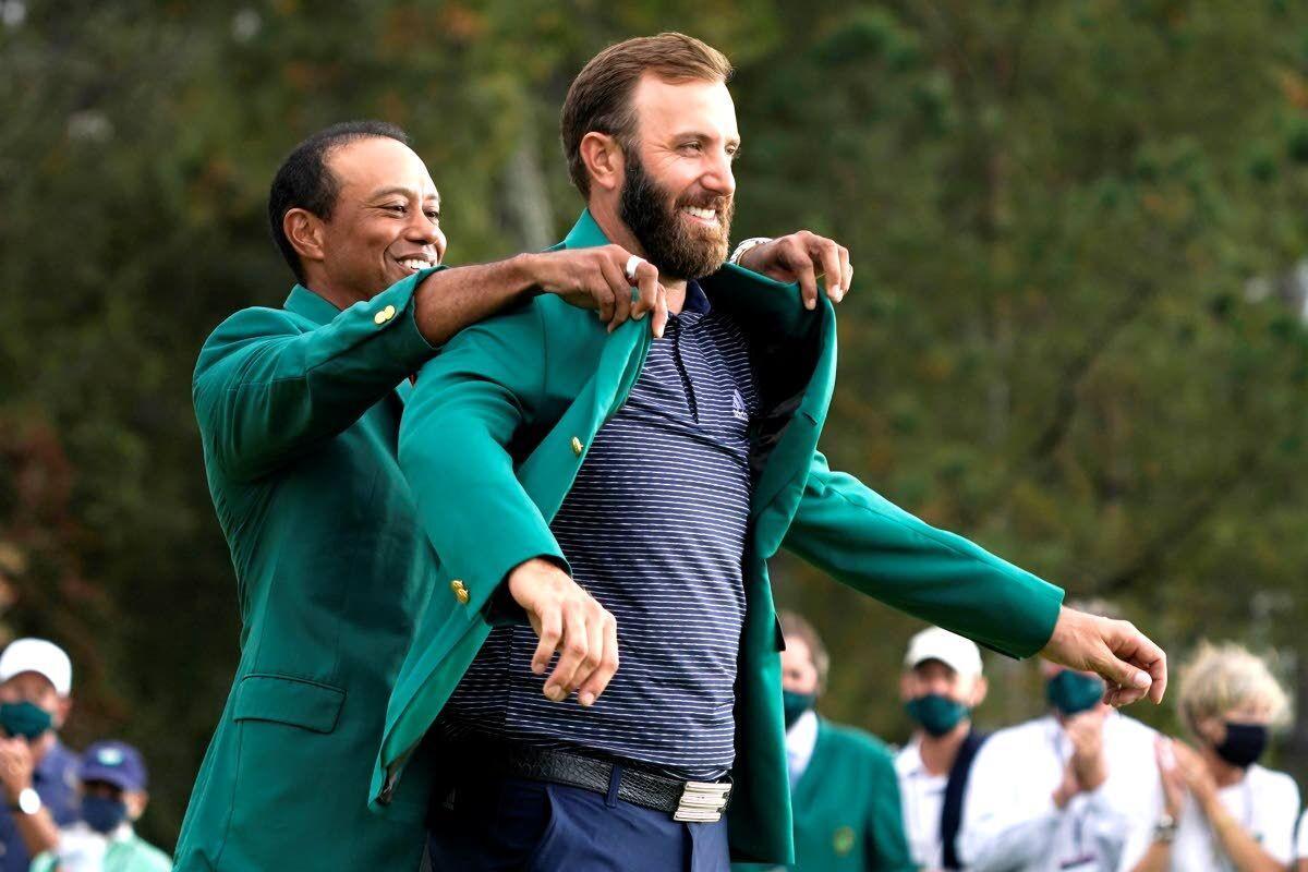 Johnson buries some major memories, wins Masters
