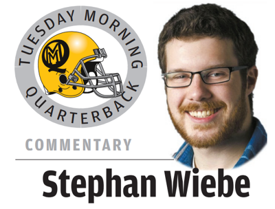 Tuesday Morning Quarterback Wiebe