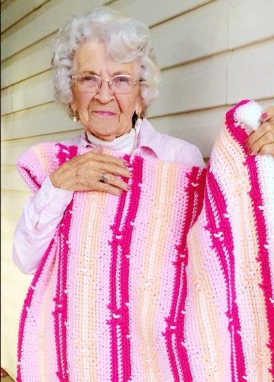 Dolly Germer celebrates her 90th birthday