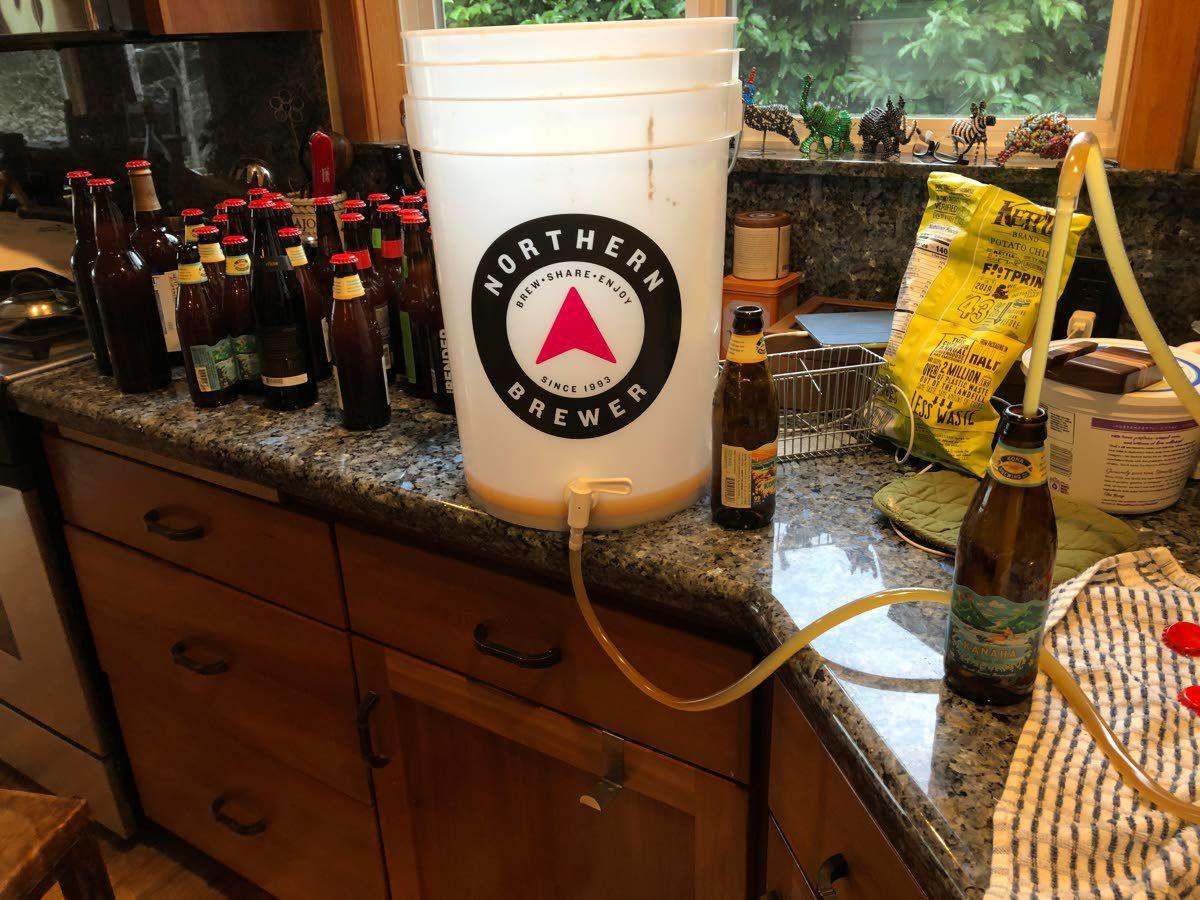 Amid pandemic, homebrewing surges in popularity