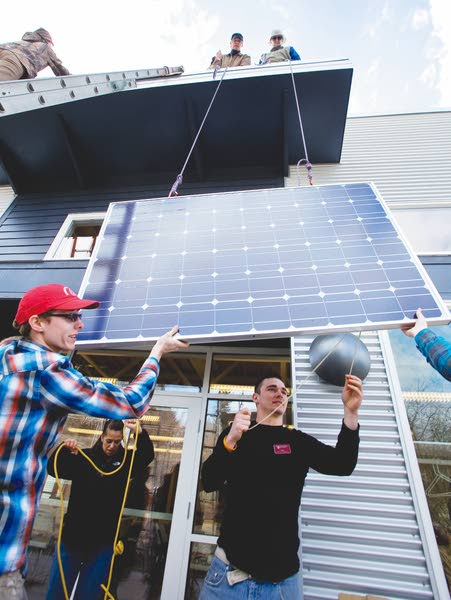 Palouse group honors friend with renewable energy