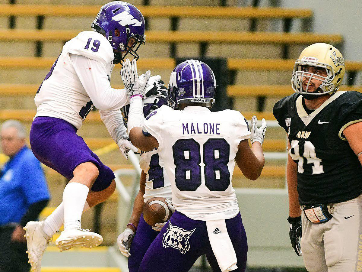 Weber State Kevin Smith touchdown at Idaho