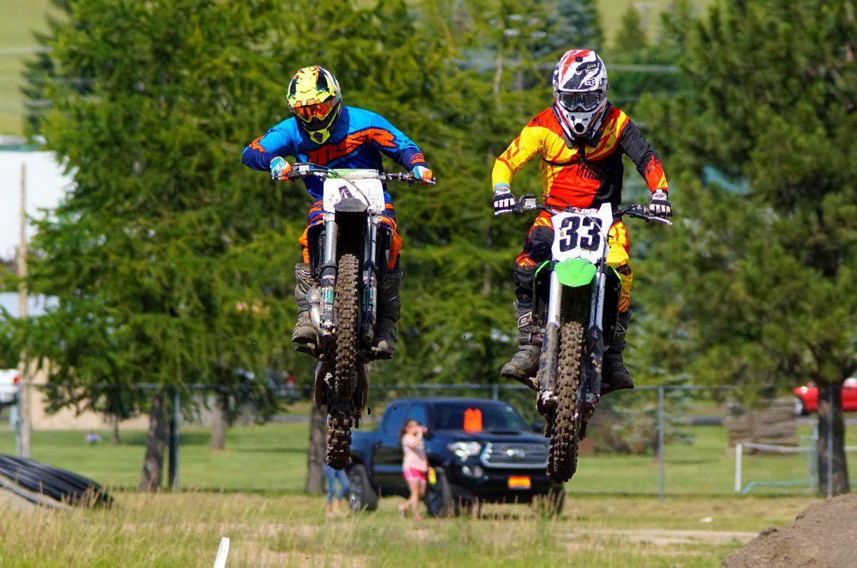 Potlatch riders fly high