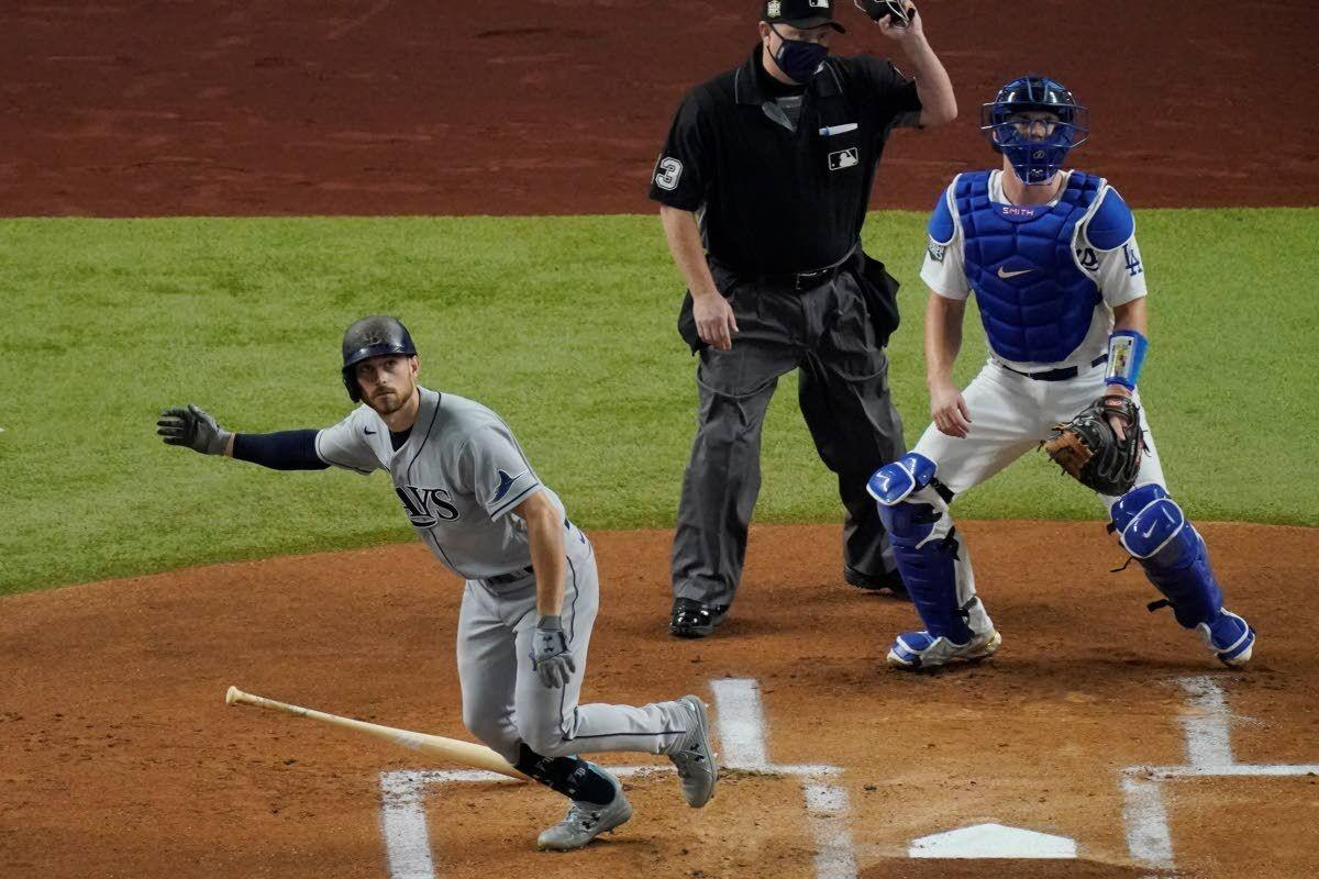 Rays even Series, beat Dodgers 6-4