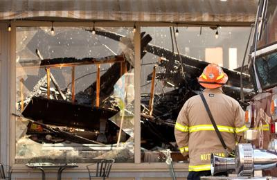 Historic Colfax building gutted