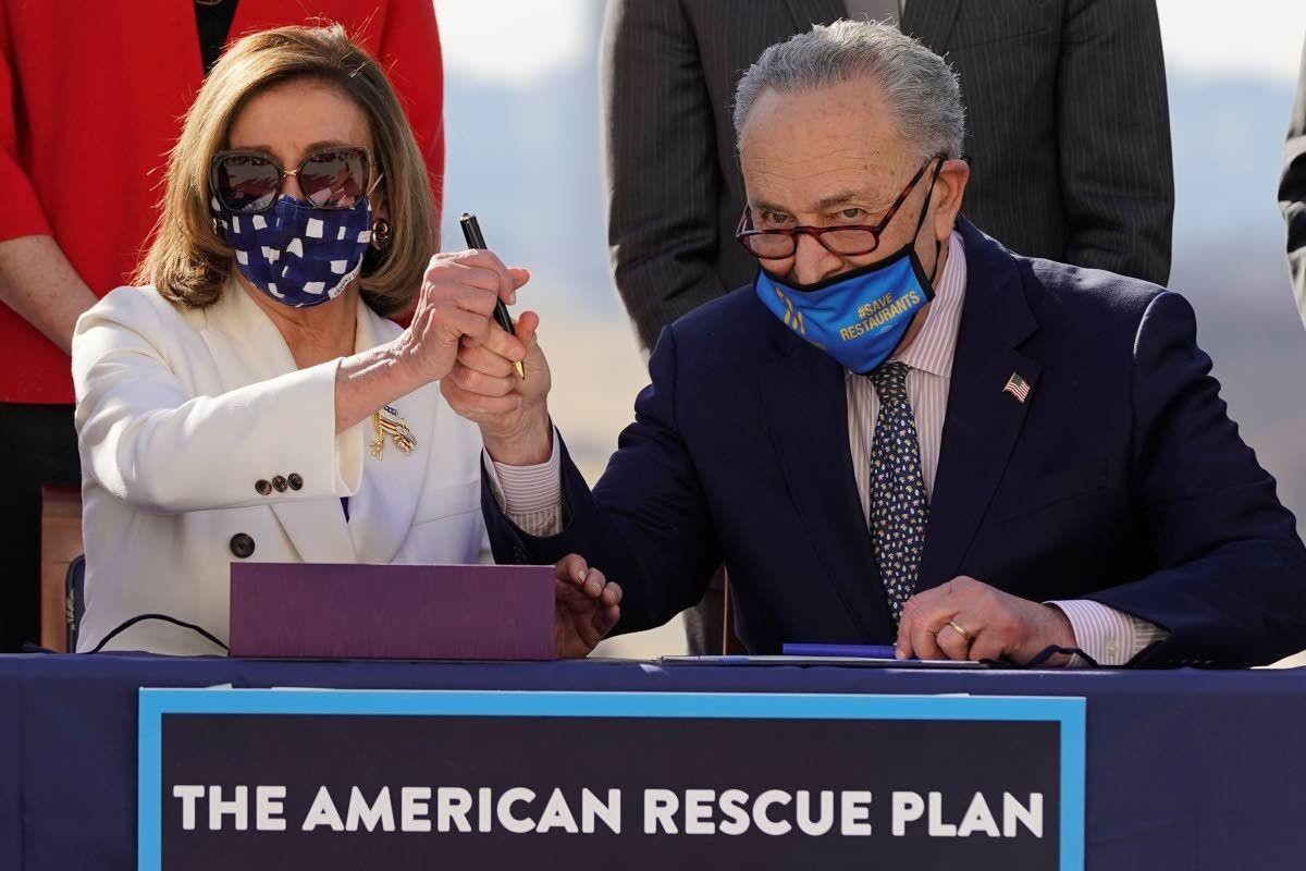 Congress OKs $1.9T virus relief bill