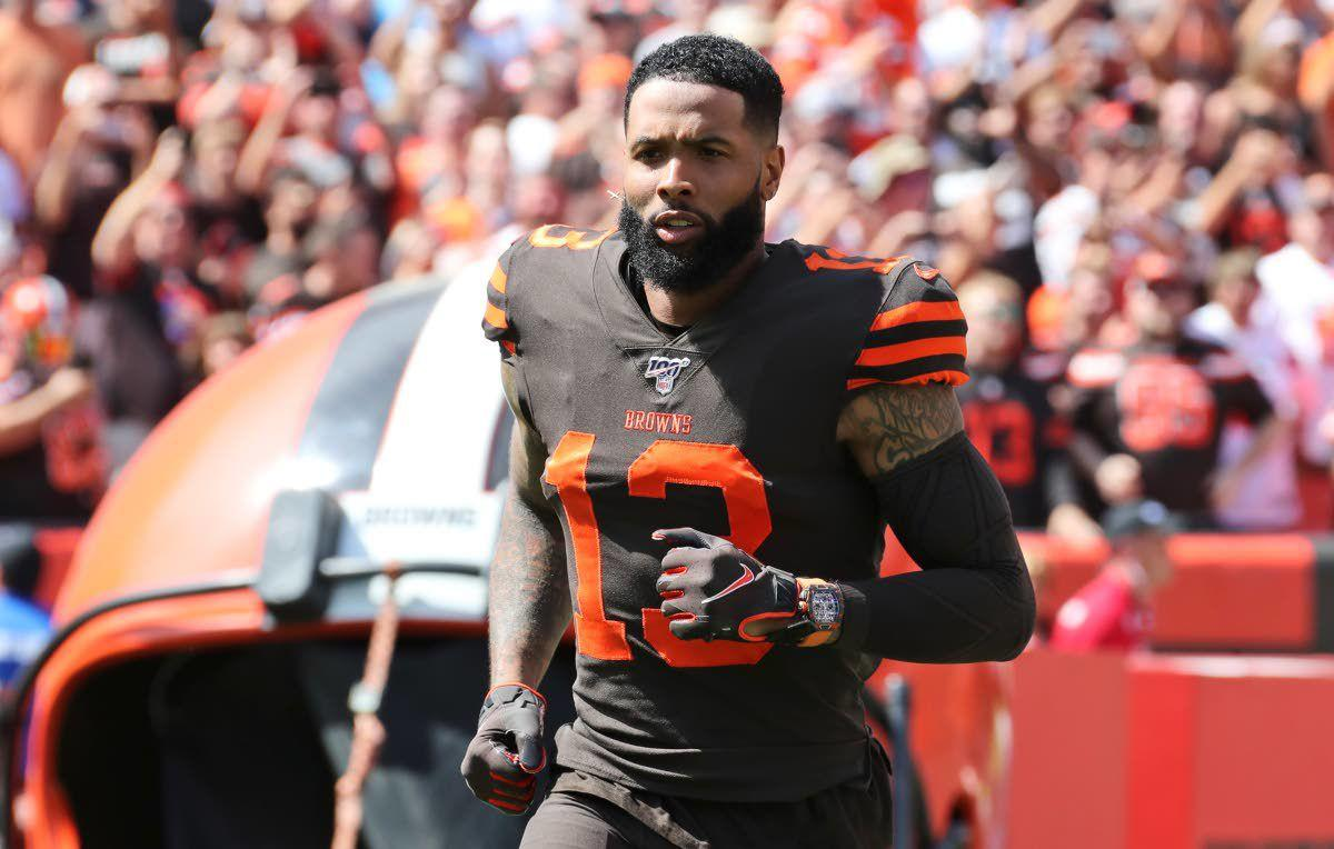 Browns' Odell Beckham Jr. says he plans to keep wearing expensive watch in games