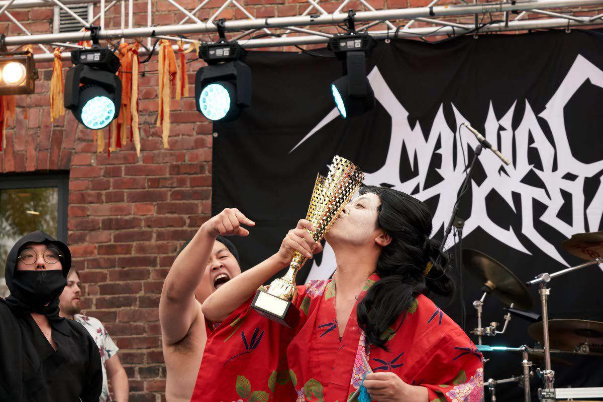 Purl jam: Finland stages heavy metal knitting contest